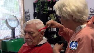 Local salon owner shows vets gratitude with free haircuts