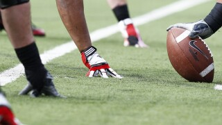 College football players' weight gain, high blood pressure can be hard on the heart