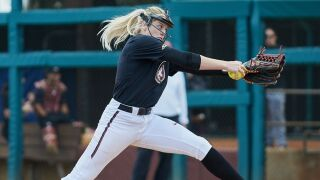 Freshmen Pitching Carries Noles Over Blue Devils