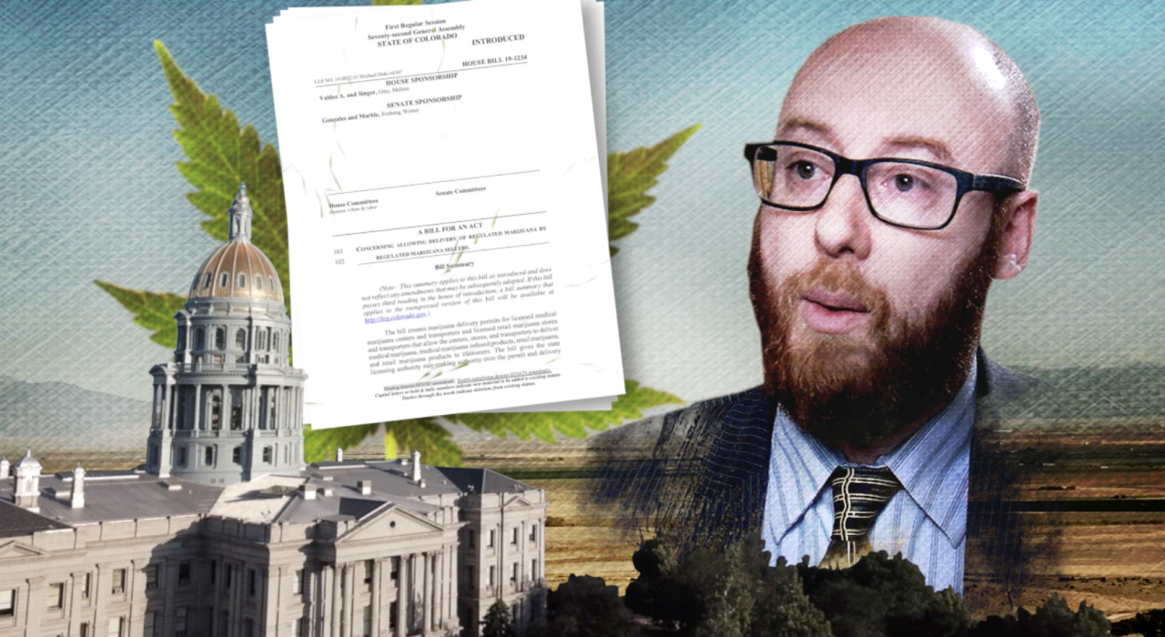 State Rep. Jonathan Singer, home medical marijuana delivery.png
