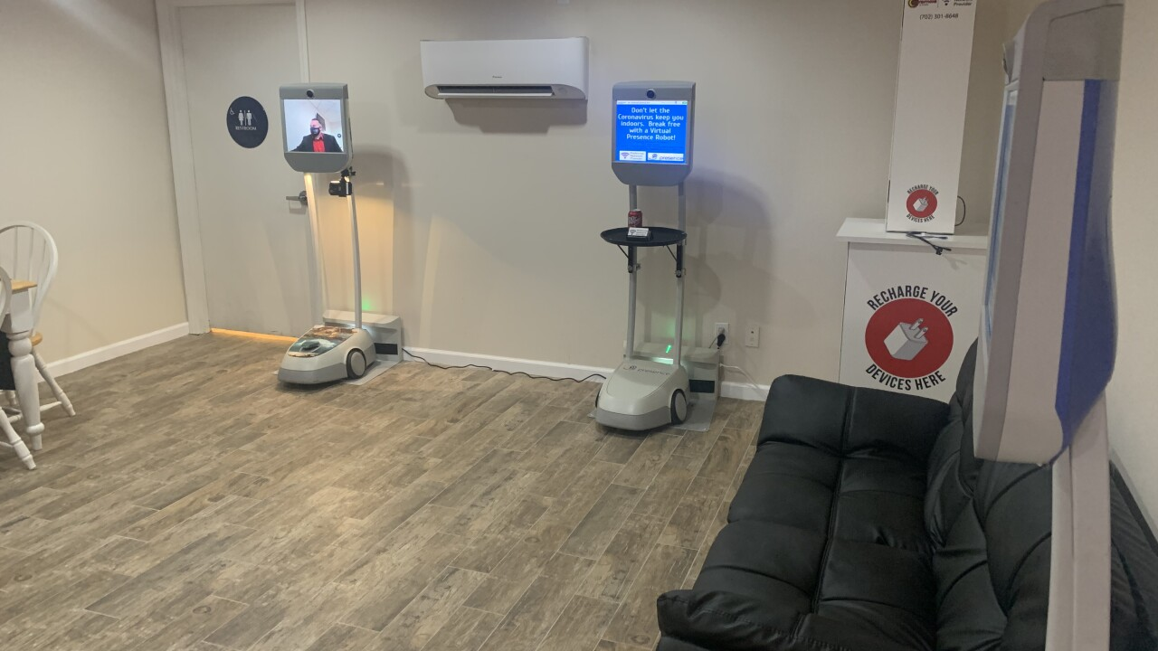Virtual Presence Robots helping people connect safely during pandemic