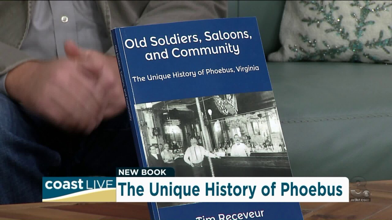 A new book about the unique history of Phoebus on Coast Live