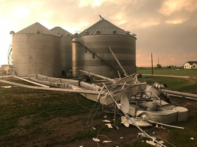 GALLERY: Hail, wind and storm damage from Monday night