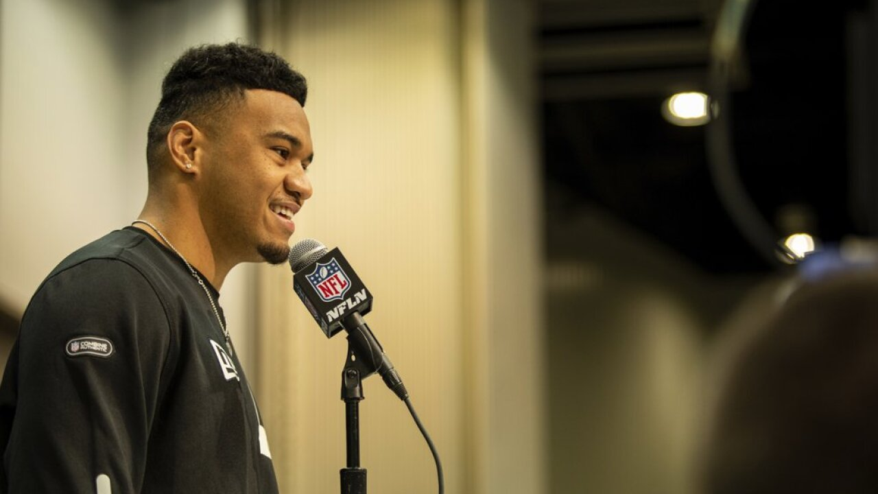 Tua Tagovailoa looking forward to going full speed in March