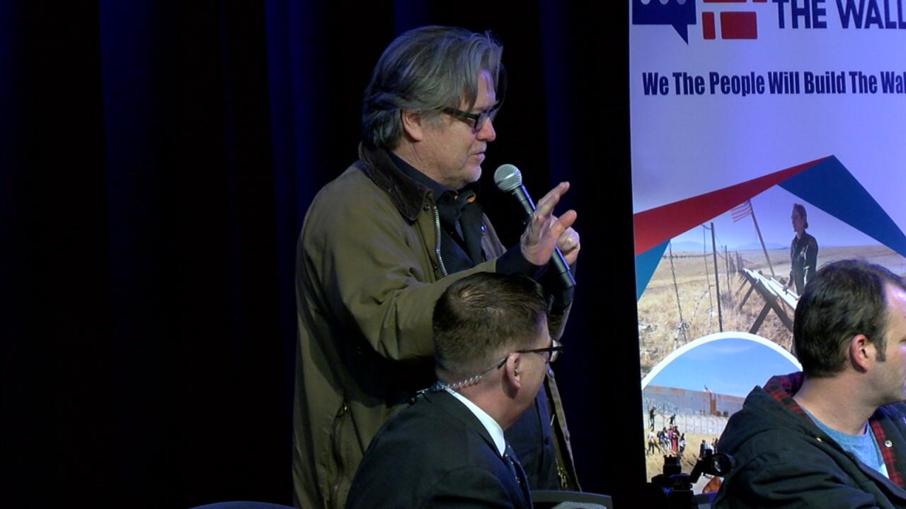 Steve Bannon speaking in Green Valley