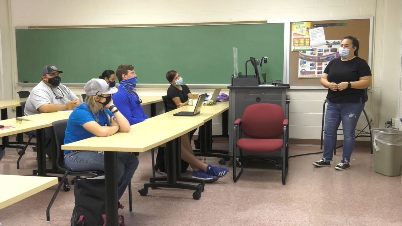 Students at Texas A&M Kingsville