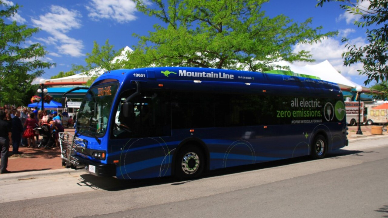 "Mountain Line ""powering up"" with electric buses"