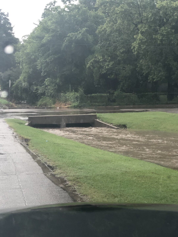 Flash flooding in Tulsa metro