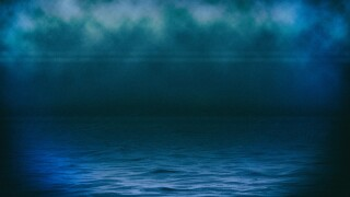 Water texture, partial graphic