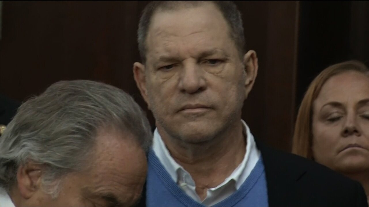 Harvey Weinstein indicted on charges of rape, criminal sexual act