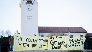 On Wednesday, Extinction Rebellion Youth (XRY) Boise and the Boise Sunrise