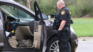 West Holmes Career Center mock dui crash arrest
