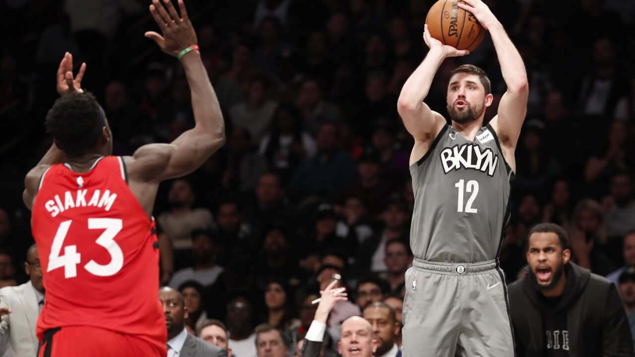 Joe Harris, Pascal Siakam Nets