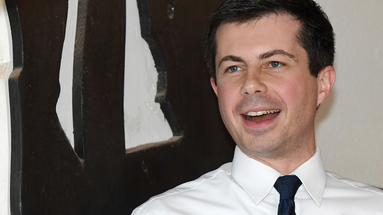 South Bend Mayor Pete Buttigieg Campaigns For President In Las Vegas