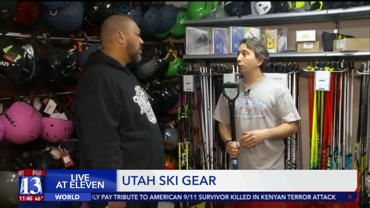 Big Budah at Utah SkiGear