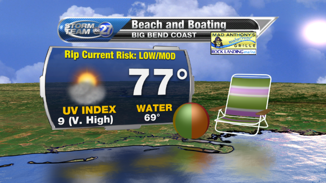 Beach and Boating forecast B (04/11/2017)