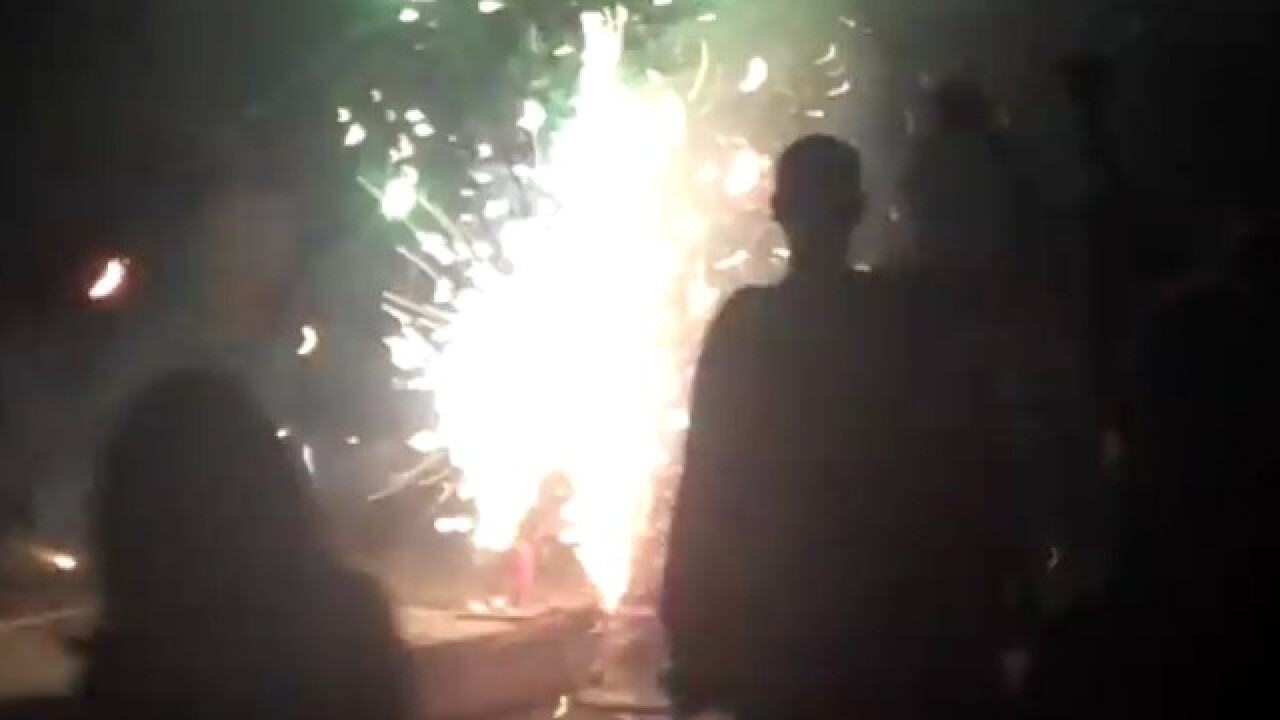 Human Firecracker to light himself up with 20,000 firecrackers to celebrate newfound family