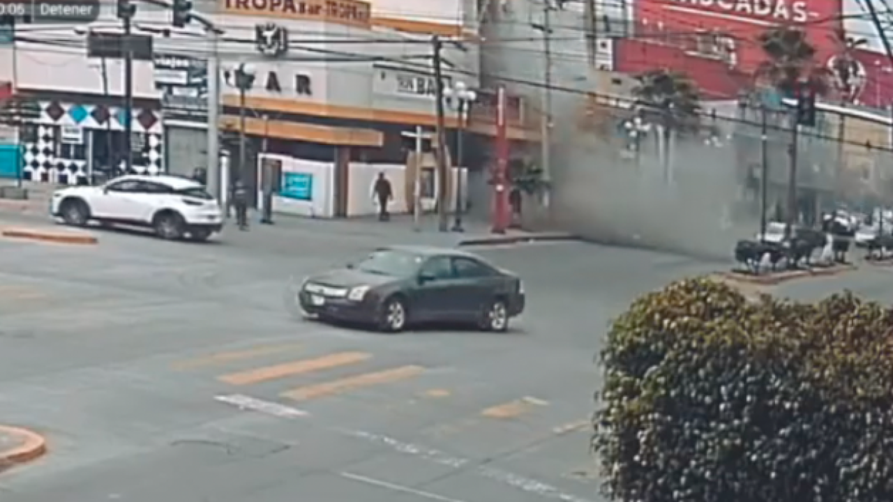 Tijuana hotel explosion