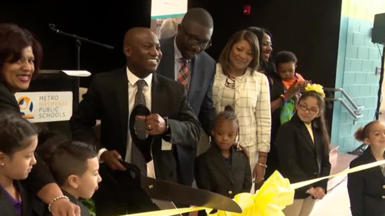 MNPS Celebrates Opening Of Eagle View Elementary School