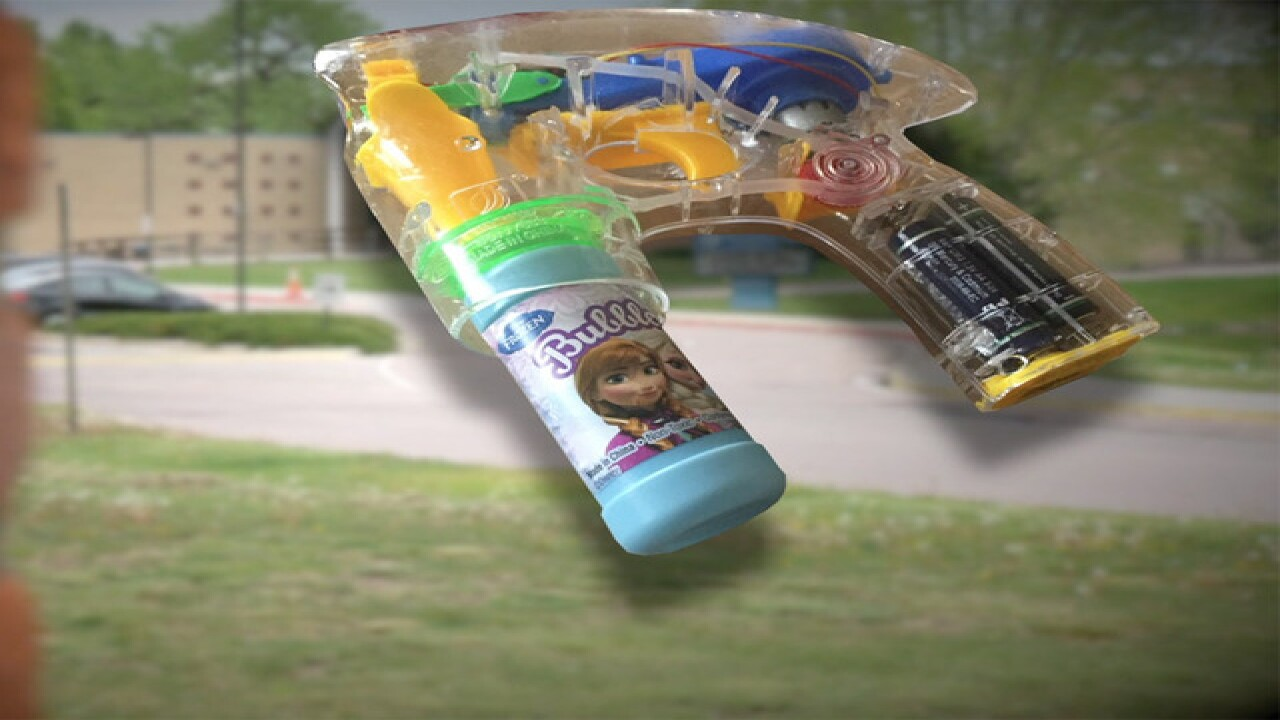 Bubble gun suspension: District reviews policy