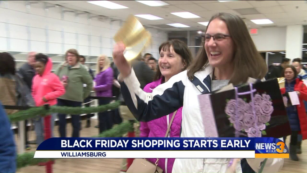 "Lucky shoppers get ""golden tickets"" and deals before Black Friday officially begins"