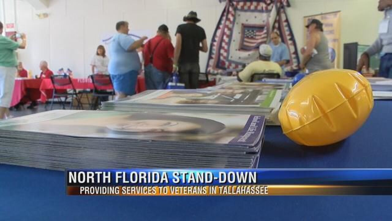 """""""Veteran Stand Down"""" Event Hosted at the North Florida Fairground"""