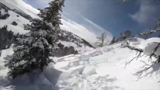 Skier triggers small avalanche near Big Sky