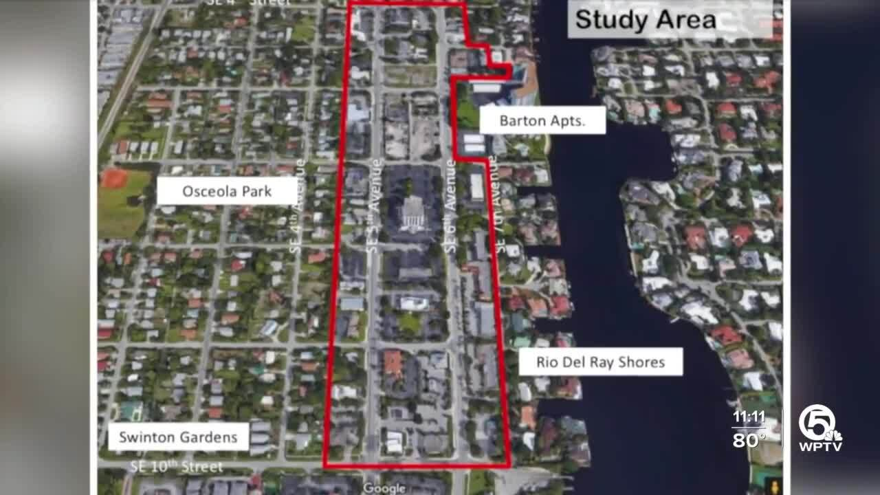 Delray Beach business district proposal