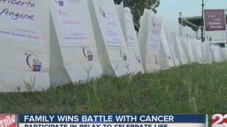 Relay for Life a special event for a family