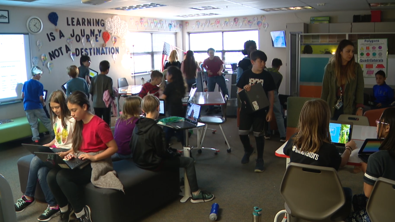 Class keeps kids moving as new study finds prolonged sitting has health impact