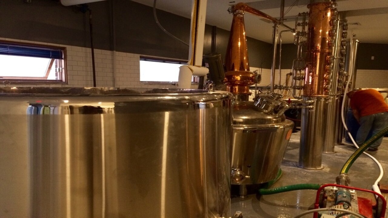 Inside Mass Ave's new Broken Beaker Distillery