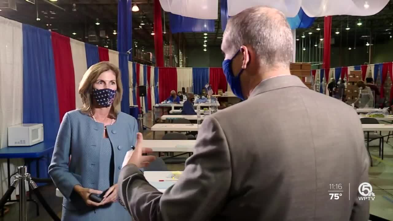 Wendy Sartory Link talks to Michael Buczyner about poll watchers