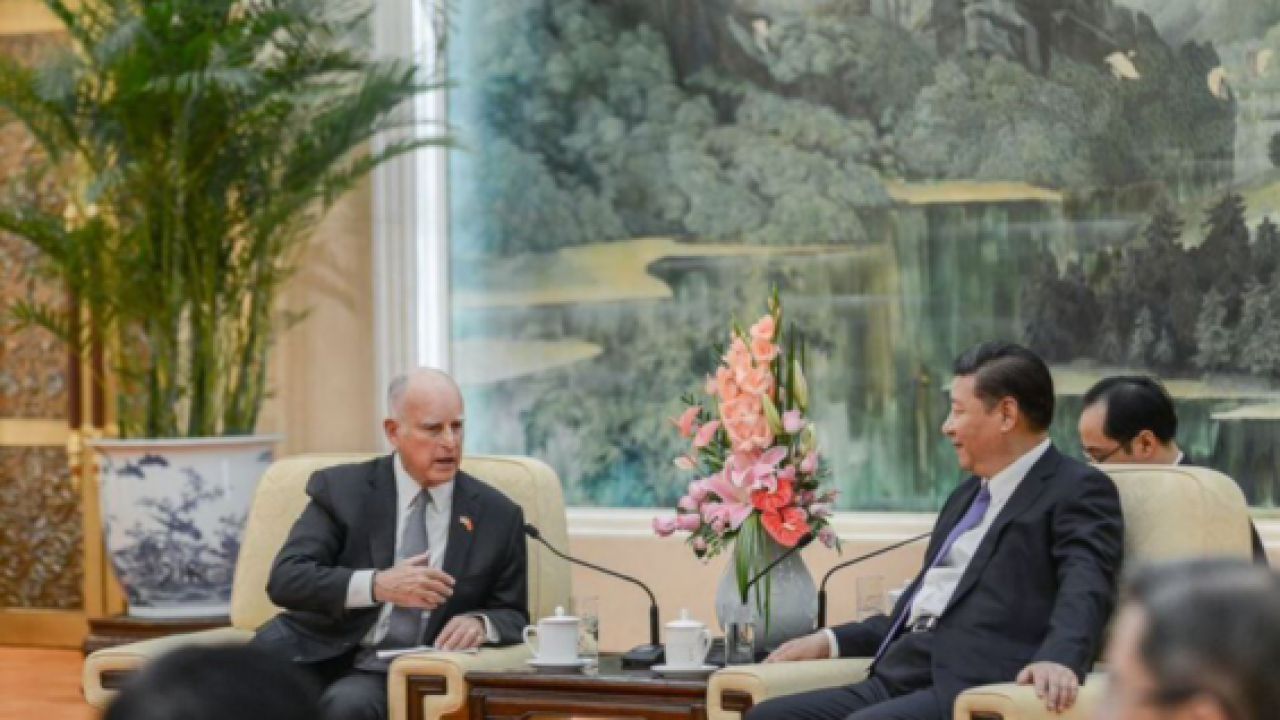 Gov., China sign agreement to further green tech