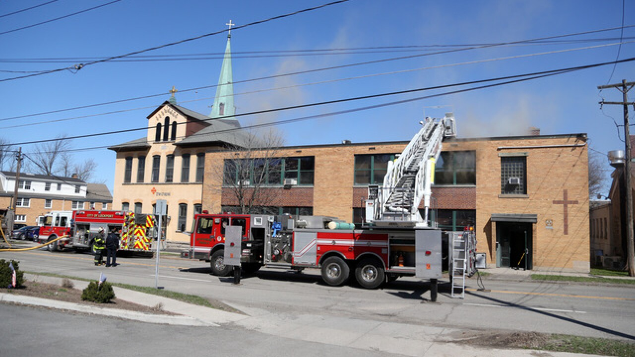 Fire breaks out at Lockport campus of The Chapel