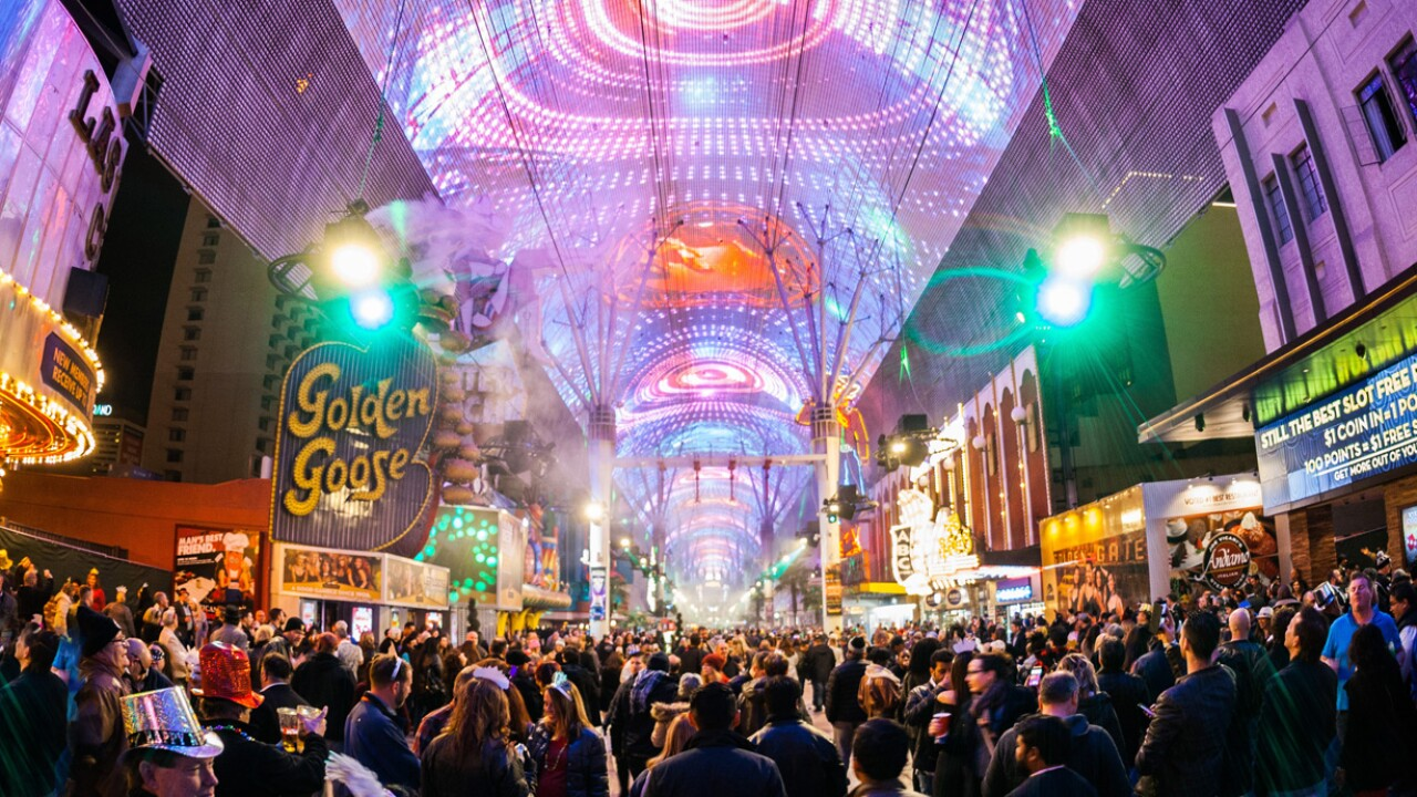 NEW YEAR'S EVE FREMONT STREET EXPERIENCE