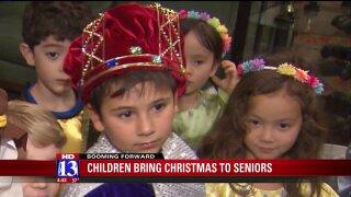 Booming Forward: Children spread Christmascheer