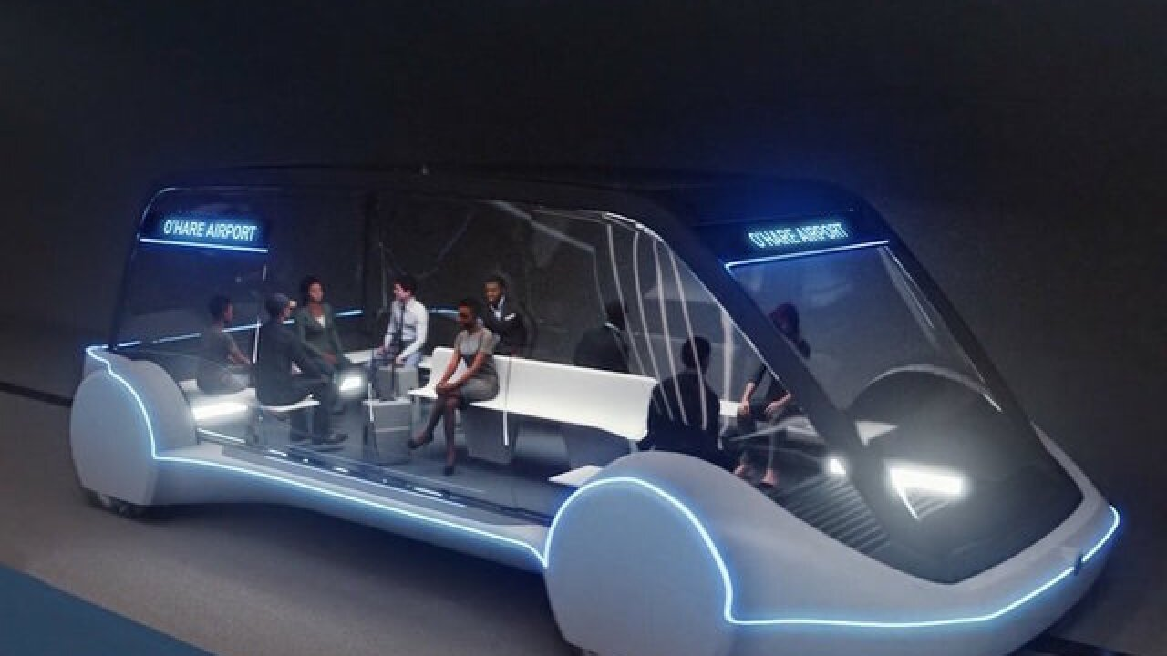Elon Musk's Boring Company to build high-speed Chicago airport link