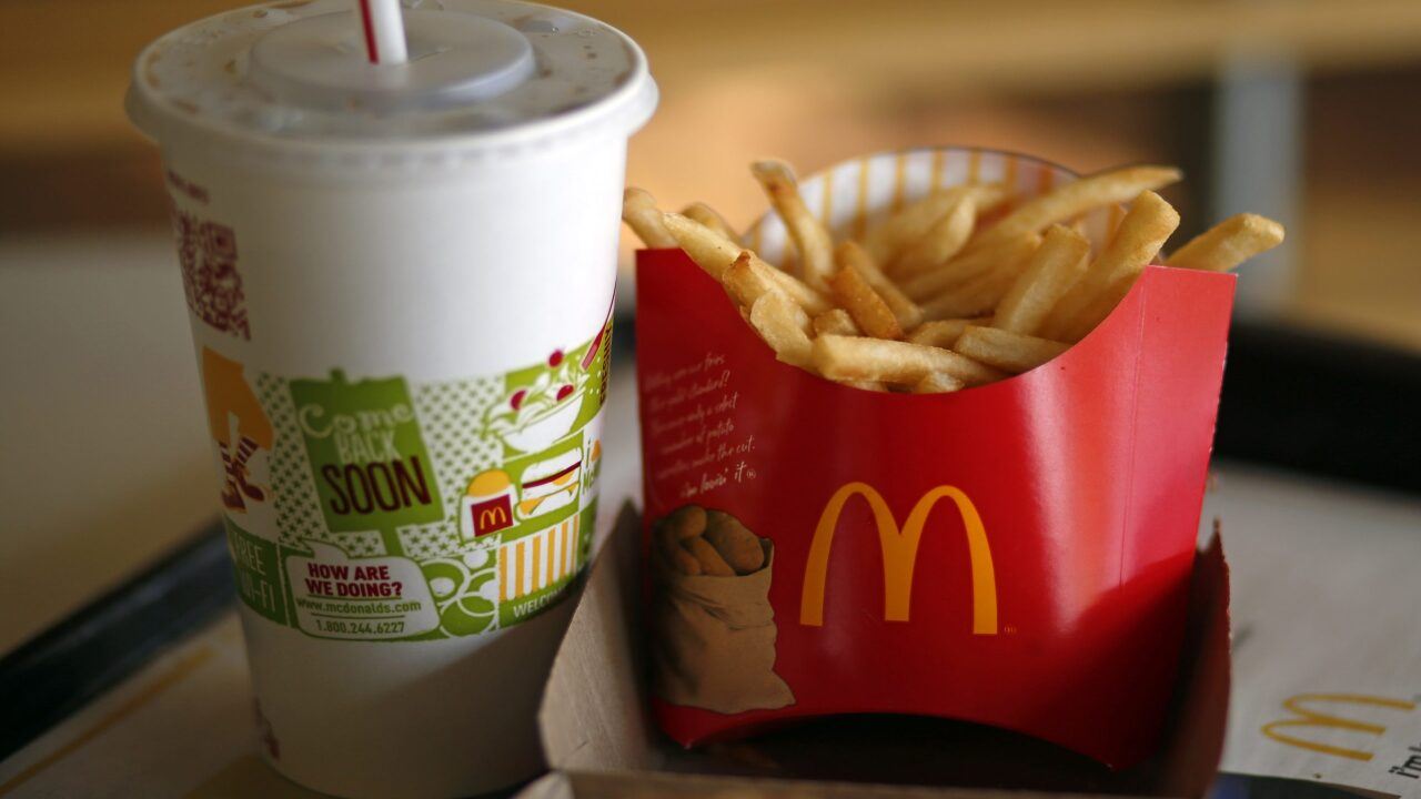 McDonald's is giving out free fries every Friday through June 28