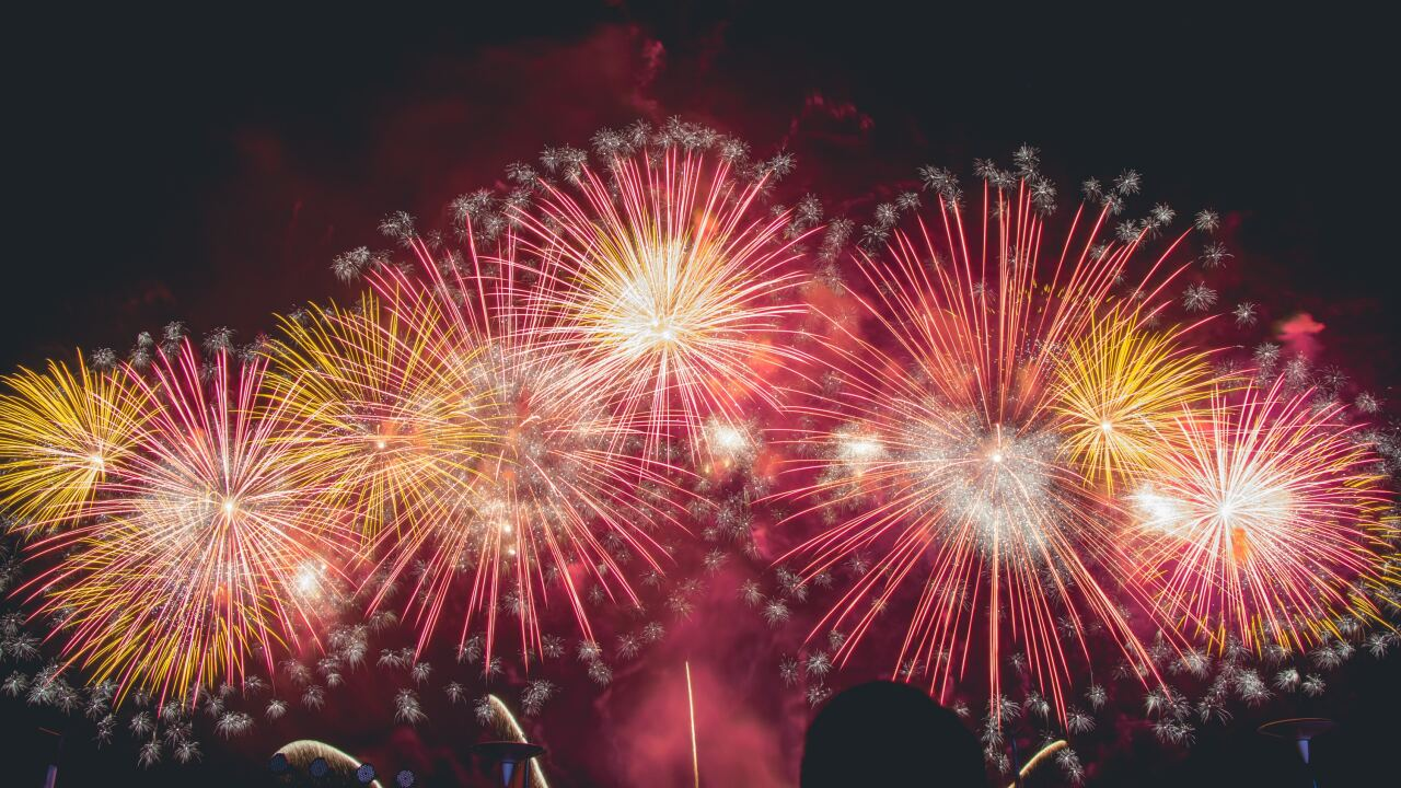 File image of fireworks display.