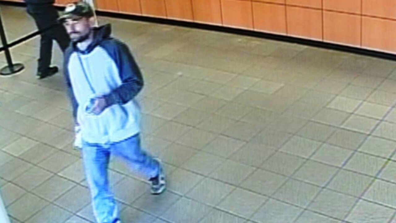 Police Search For Smyrna Bank Robbery Suspect