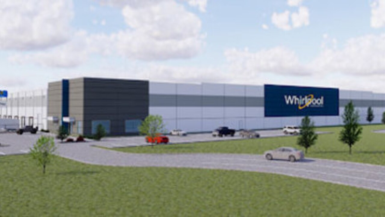 Whirlpool plans $55 million Tulsa expansion