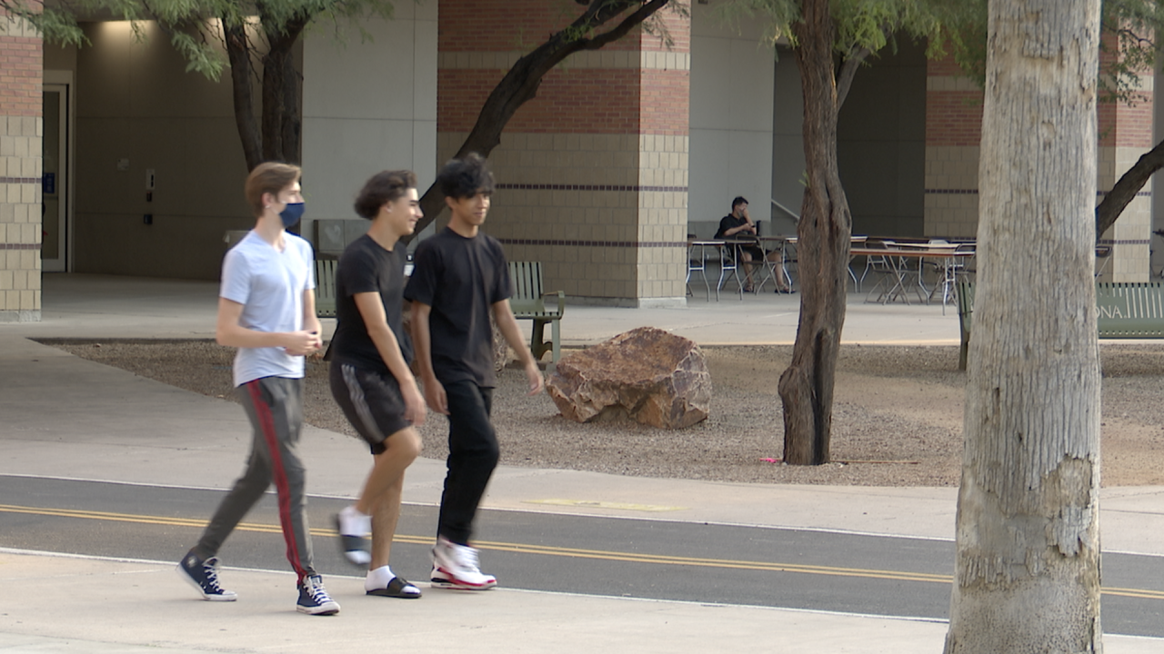 Pima County health officials continue to watch for COVID spread at the University of Arizona after students returned to campus in August.