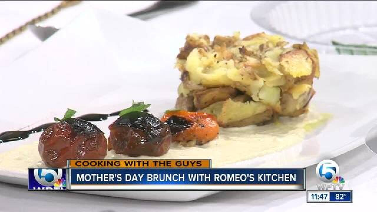 Mother's Day brunch with Romeo's in Wellington