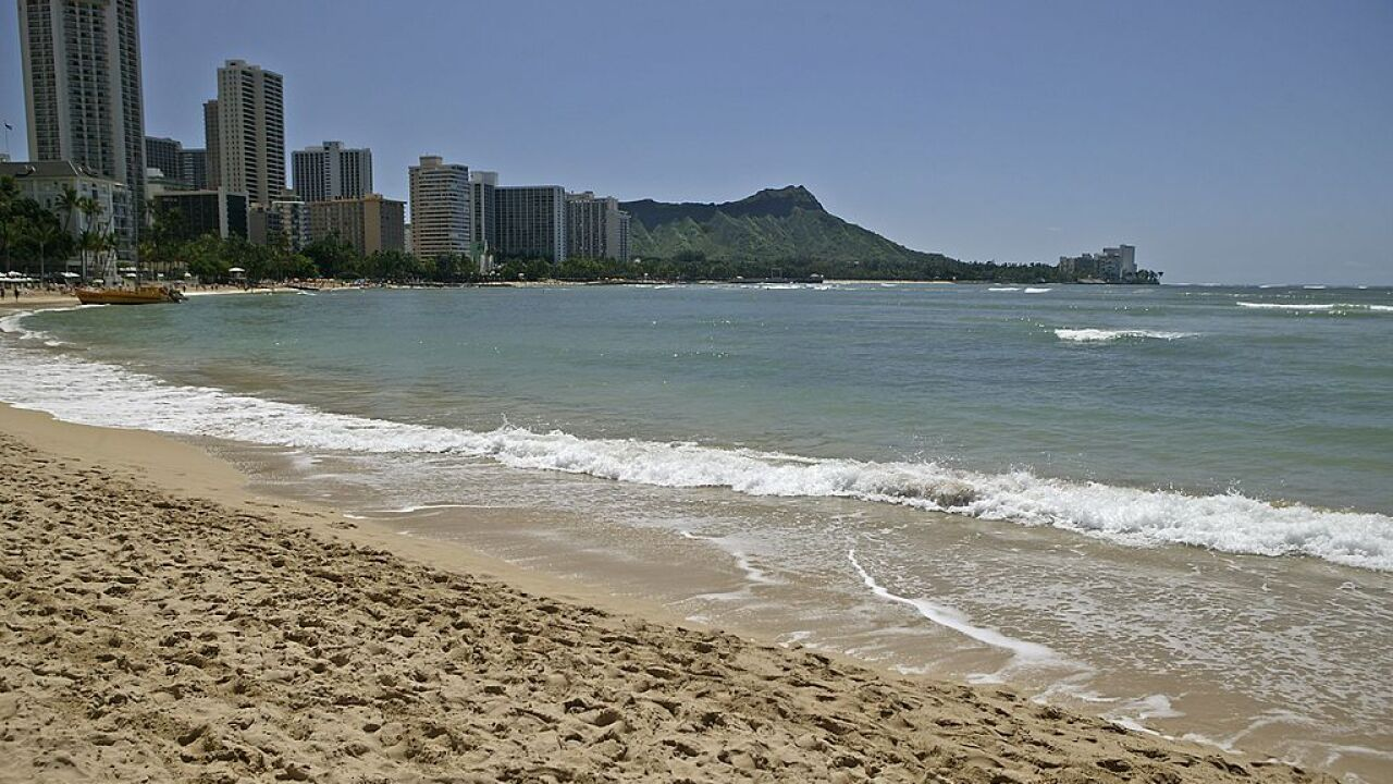 Lawmakers trying to prevent Hawaii's Waikiki Beach from being flooded due to climate change