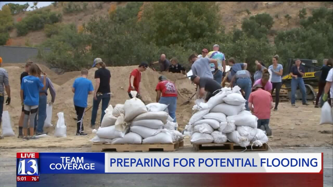 Residents band together, National Guard activated ahead of potential flooding in Utah County