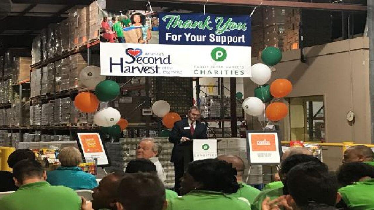 Publix presents $100K grant to Second Harvest of Big Bend