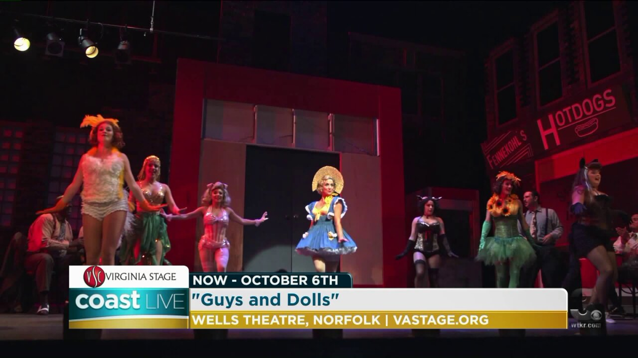 """A preview of Virginia Stage Company's """"Guys and Dolls"""" on CoastLive"""