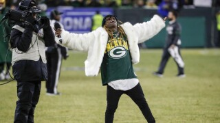 Seahawks Packers Football Lil Wayne