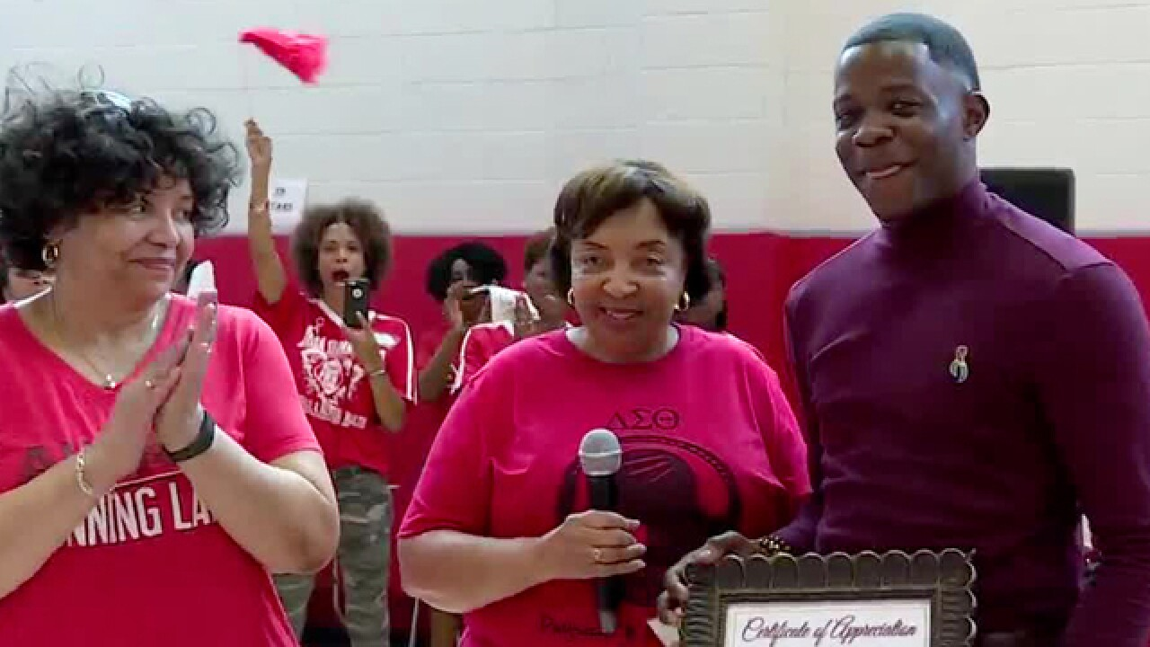 Cancer Survivors, James Shaw Honored At Healthy Family Day