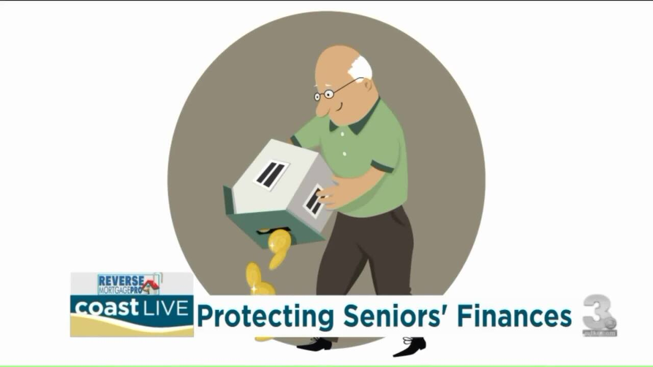 Talking about stock market flux and reverse mortgages for retirees on CoastLive